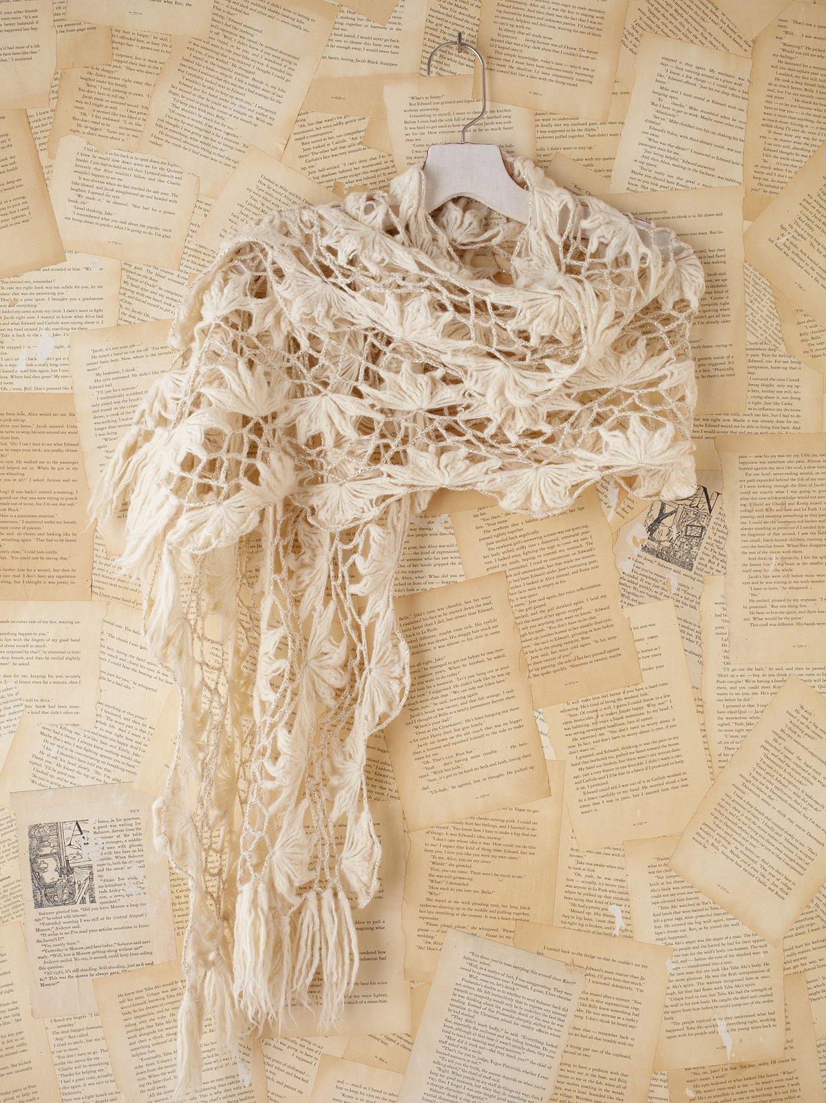 Vintage Crochet Scarf