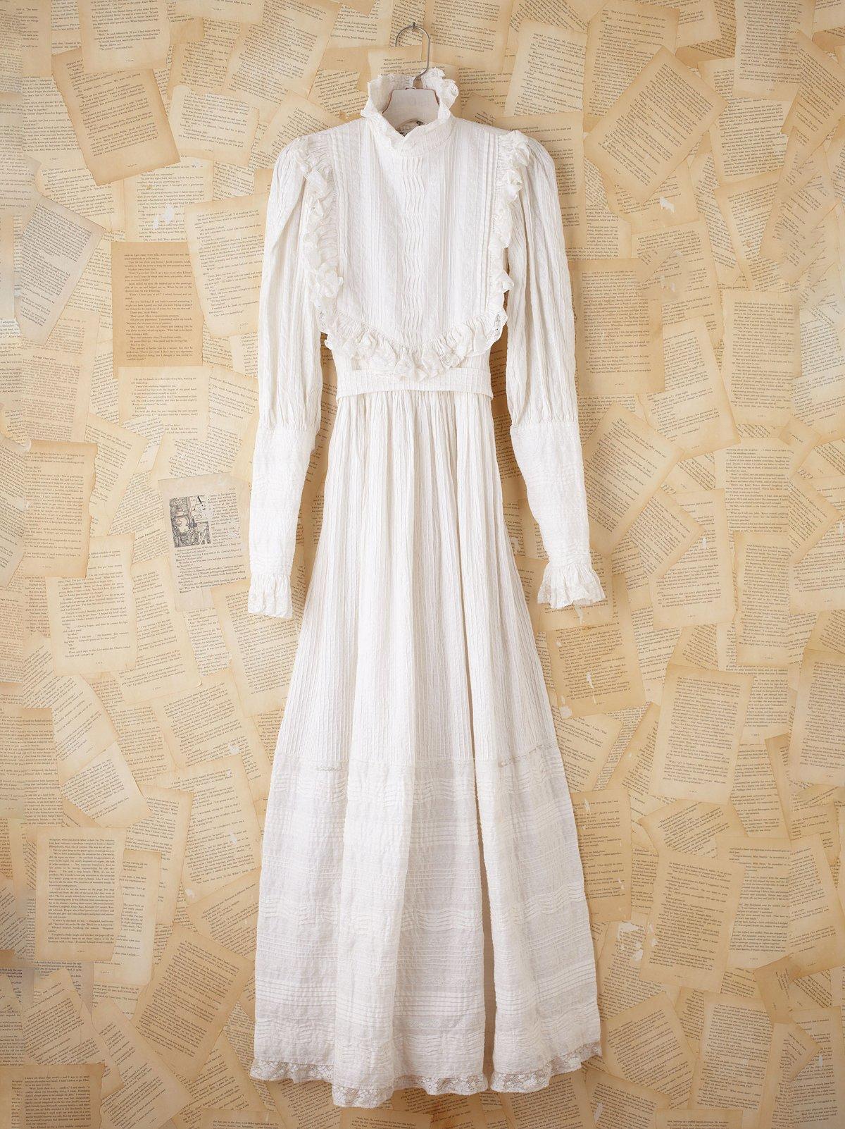 Vintage 1970s Bib Dress