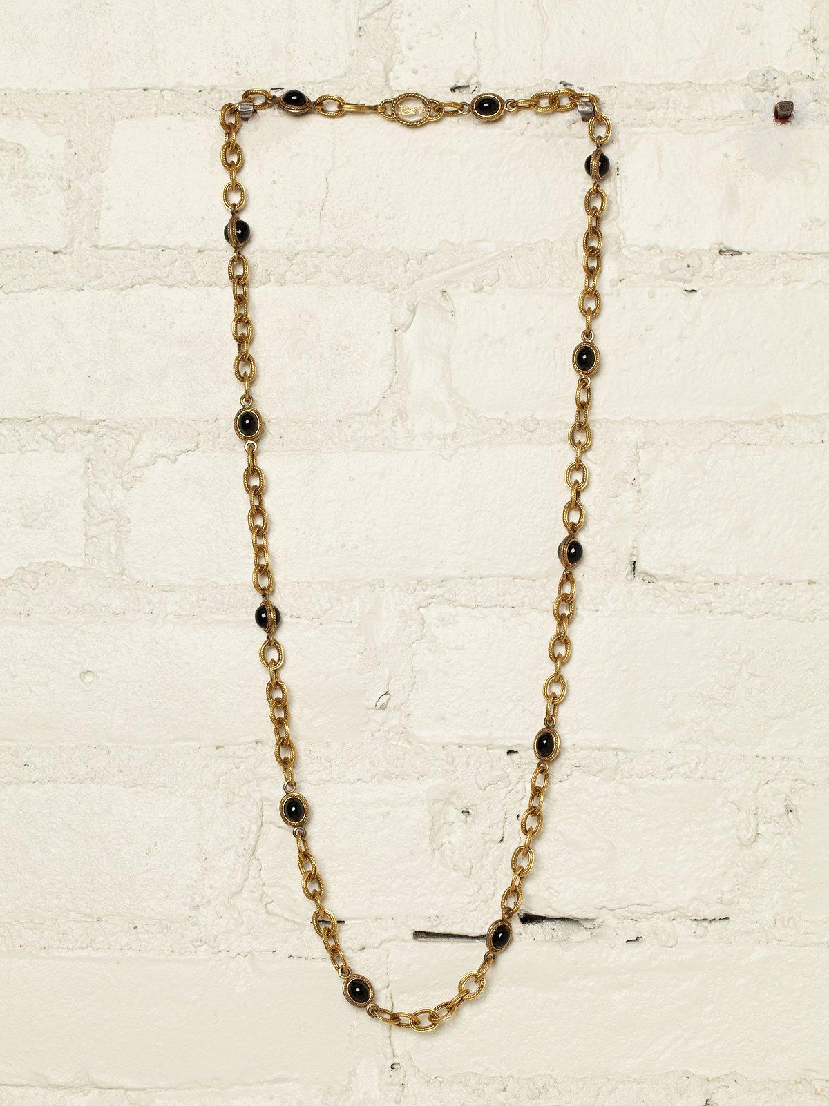 Vintage Yves Saint Laurent Chain Necklace