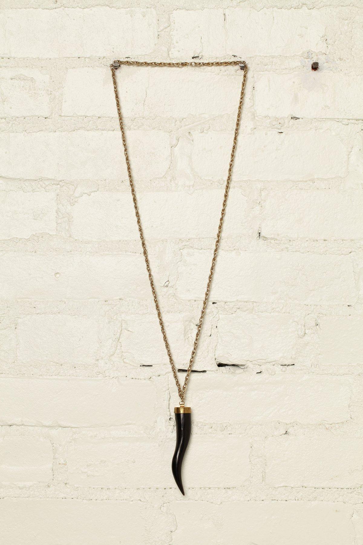 Vintage Italian Horn Necklace