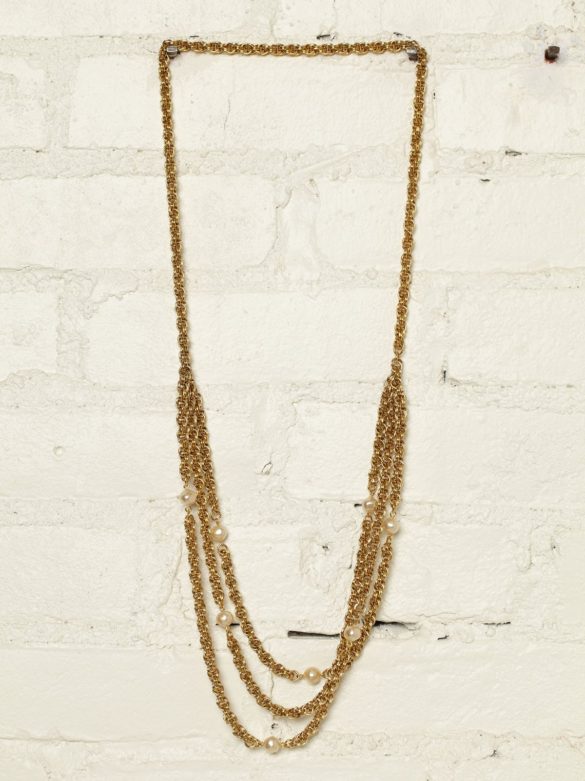 Vintage Chain Swing Necklace