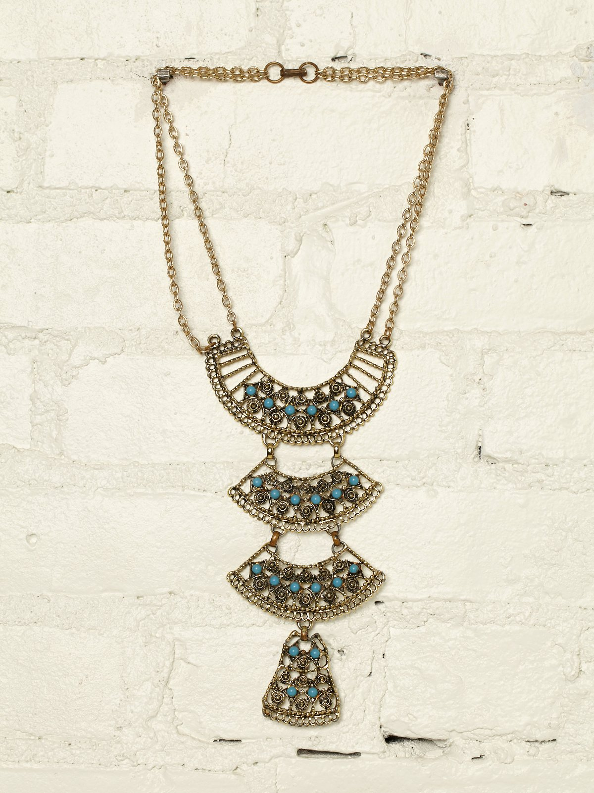 Vintage Tiered Necklace