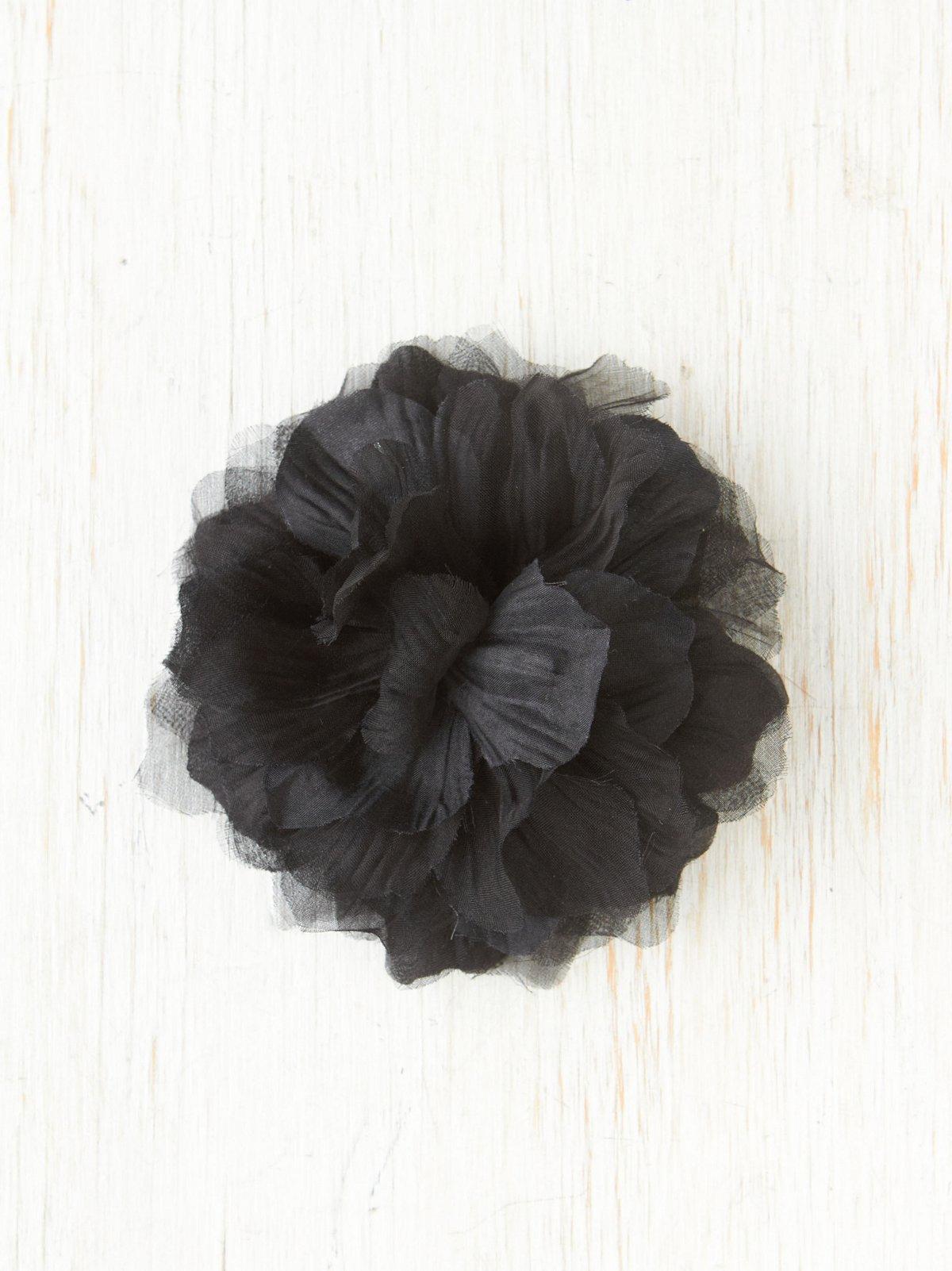 Large Flower Bobby Pin