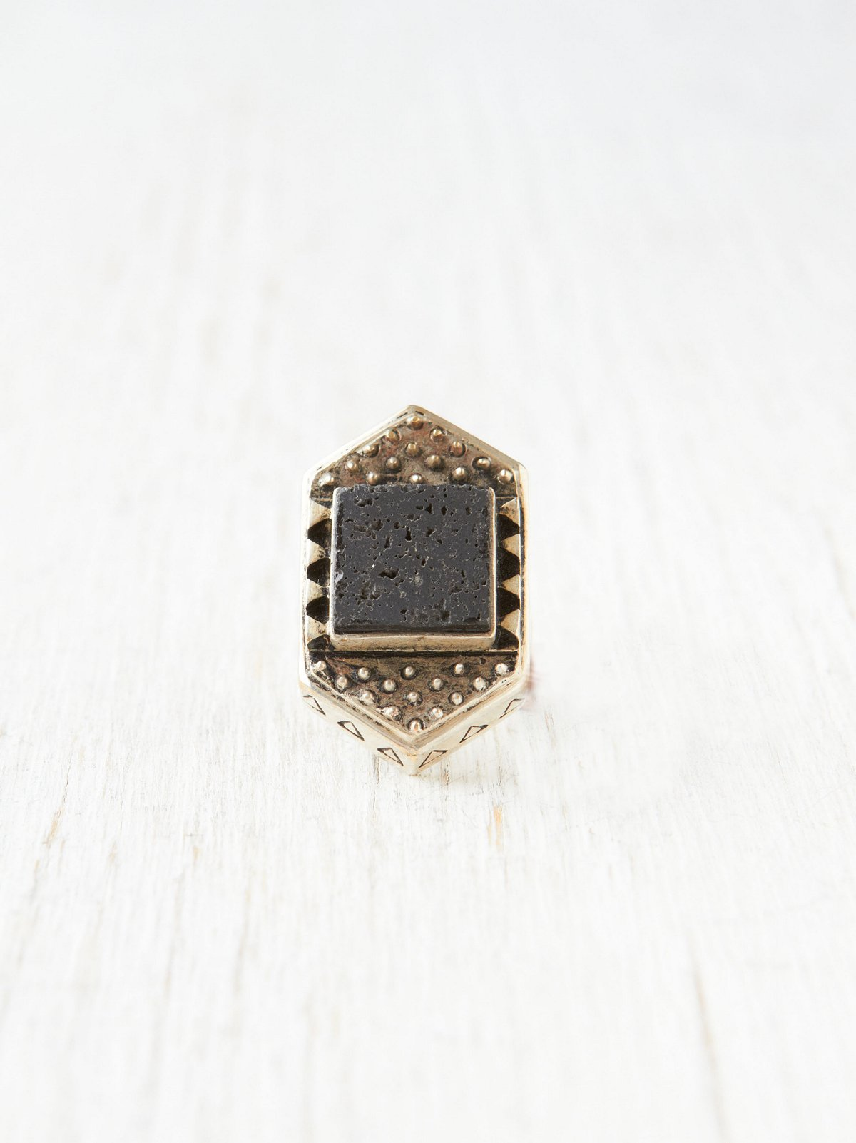 Turks Stone Ring