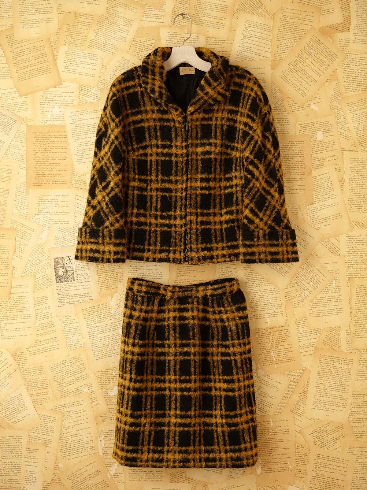 Vintage Two Piece Suit