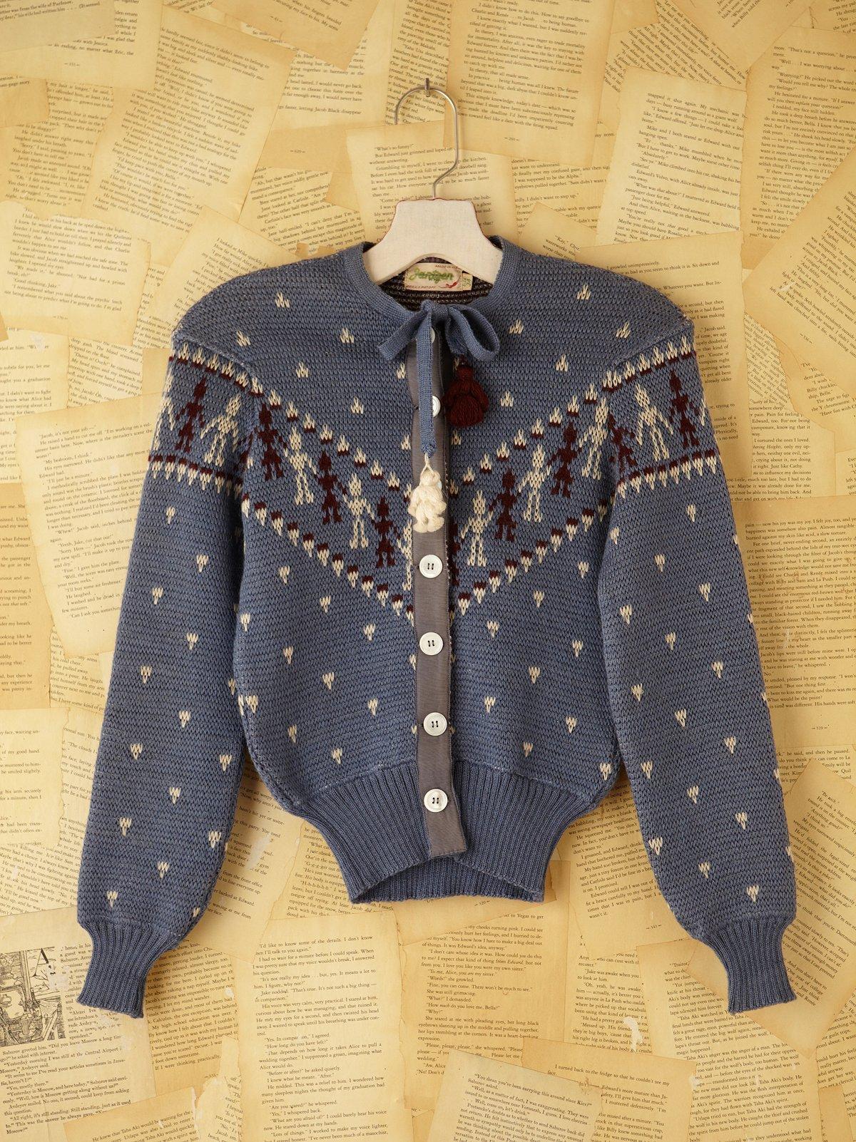 Vintage Jantzen Sweater Cardigan