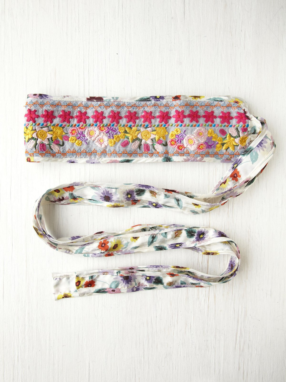 Floral Galore Obi Belt