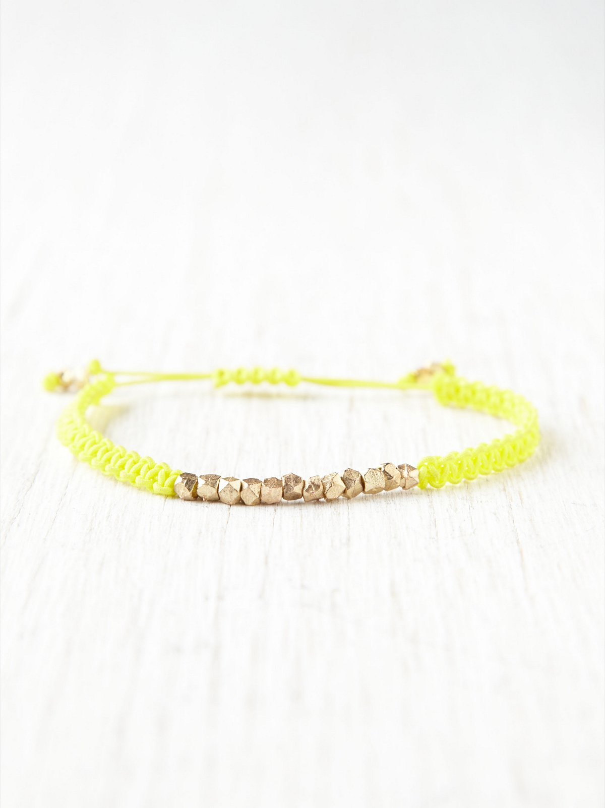 Neon Nugget Friendship Bands