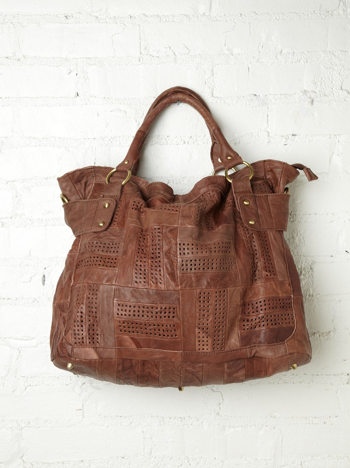Sabine Perforated Tote
