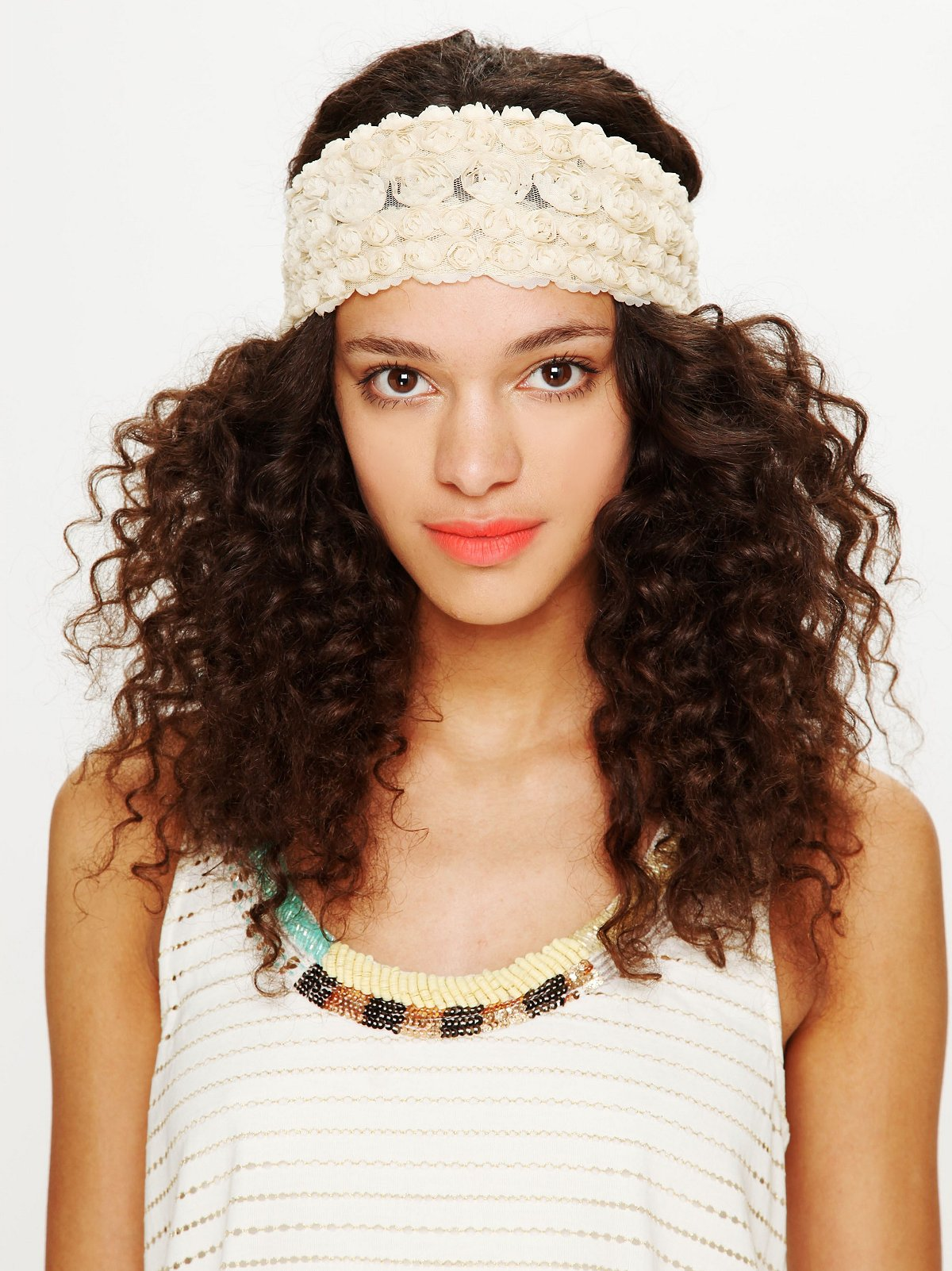 Tatty Floral Gauze Headwrap