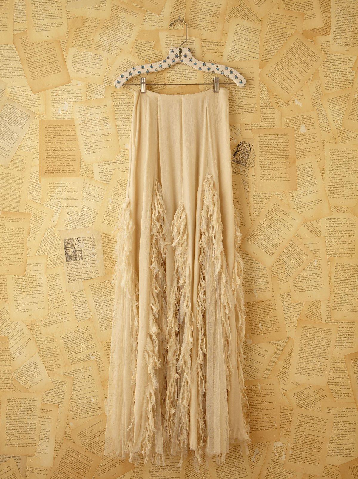 Vintage Chiffon Skirt
