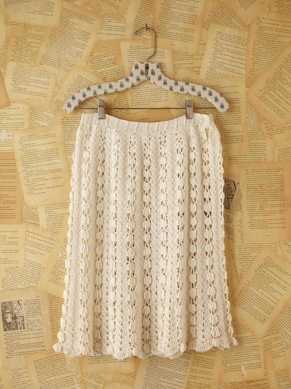Vintage Granny Knit Crochet