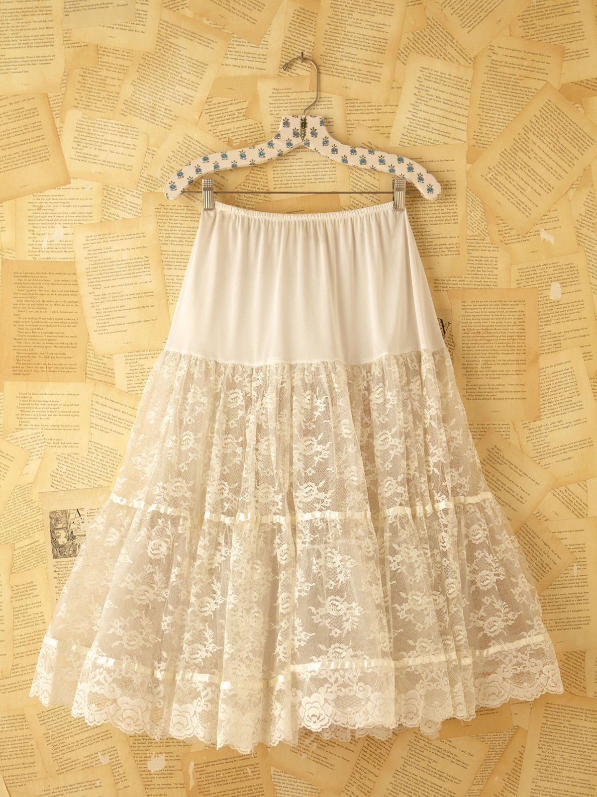 Vintage Lace Princess Skirt