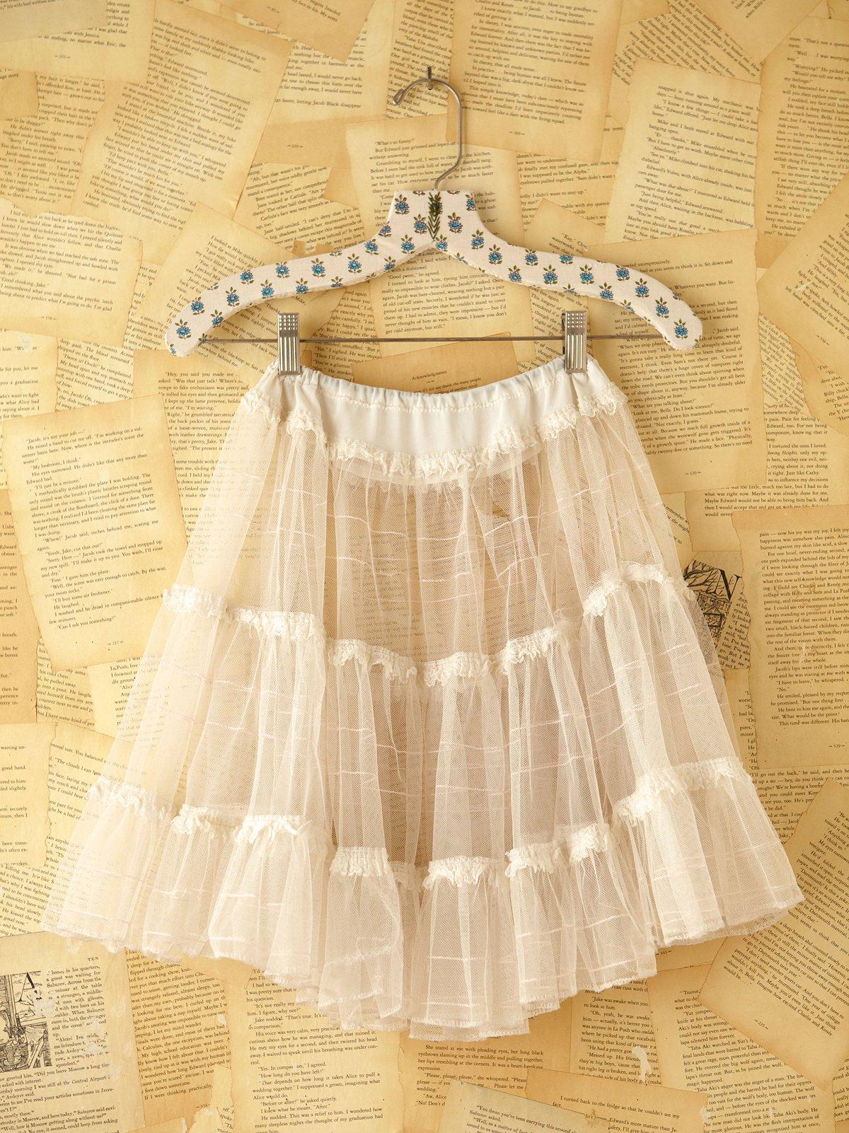 Vintage Crinoline Skirt