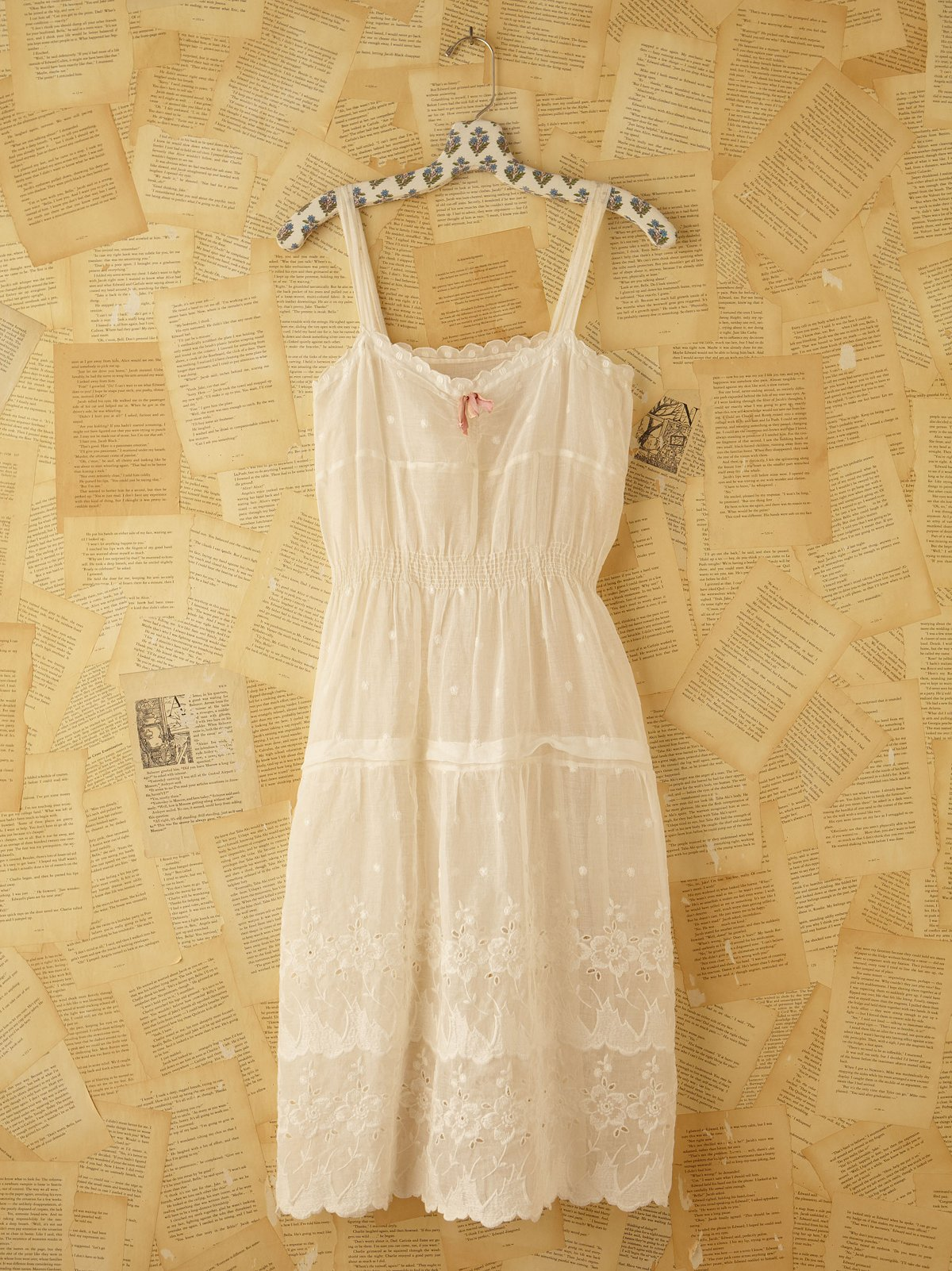 Vintage Cotton and Linen Dress