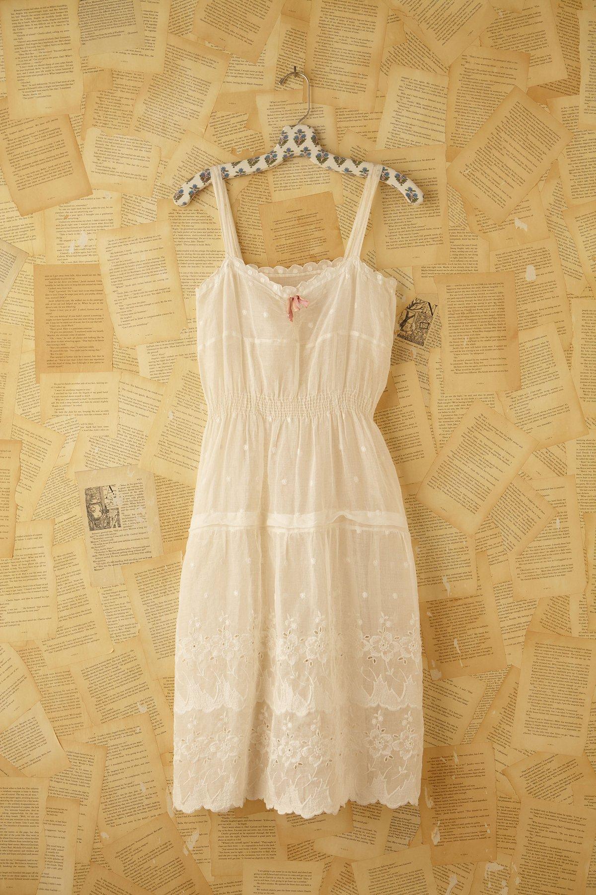 Vintage Cotton and Linen Dress