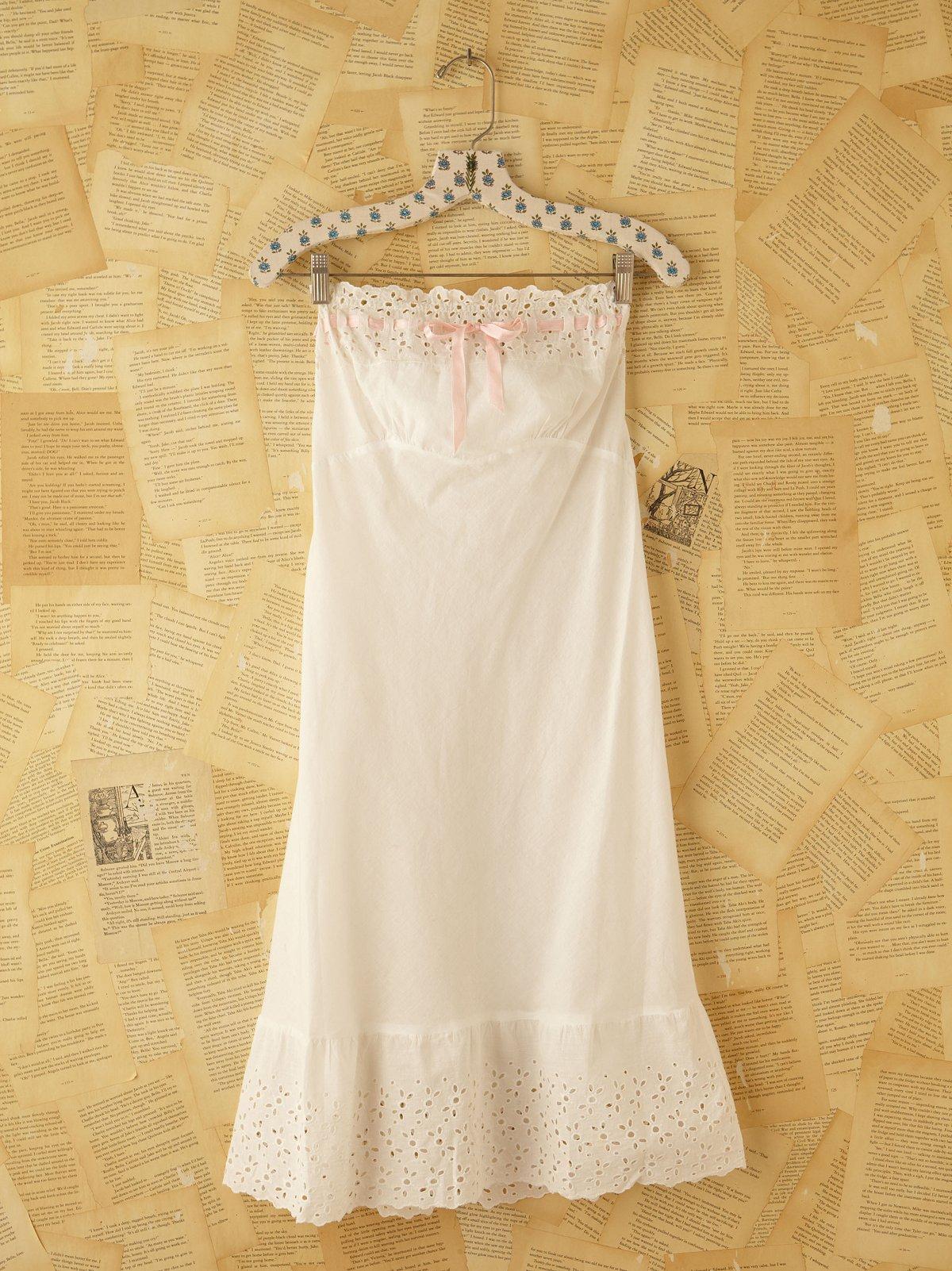 Vintage Victorian Slip Dress