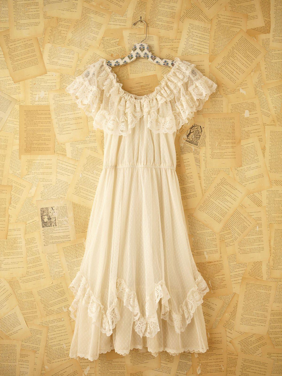 Vintage Prairie Princess Dress
