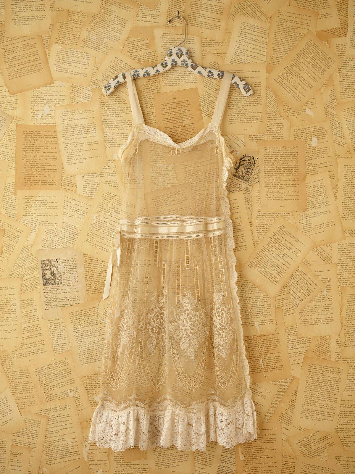 Vintage 1920s Lace Dress