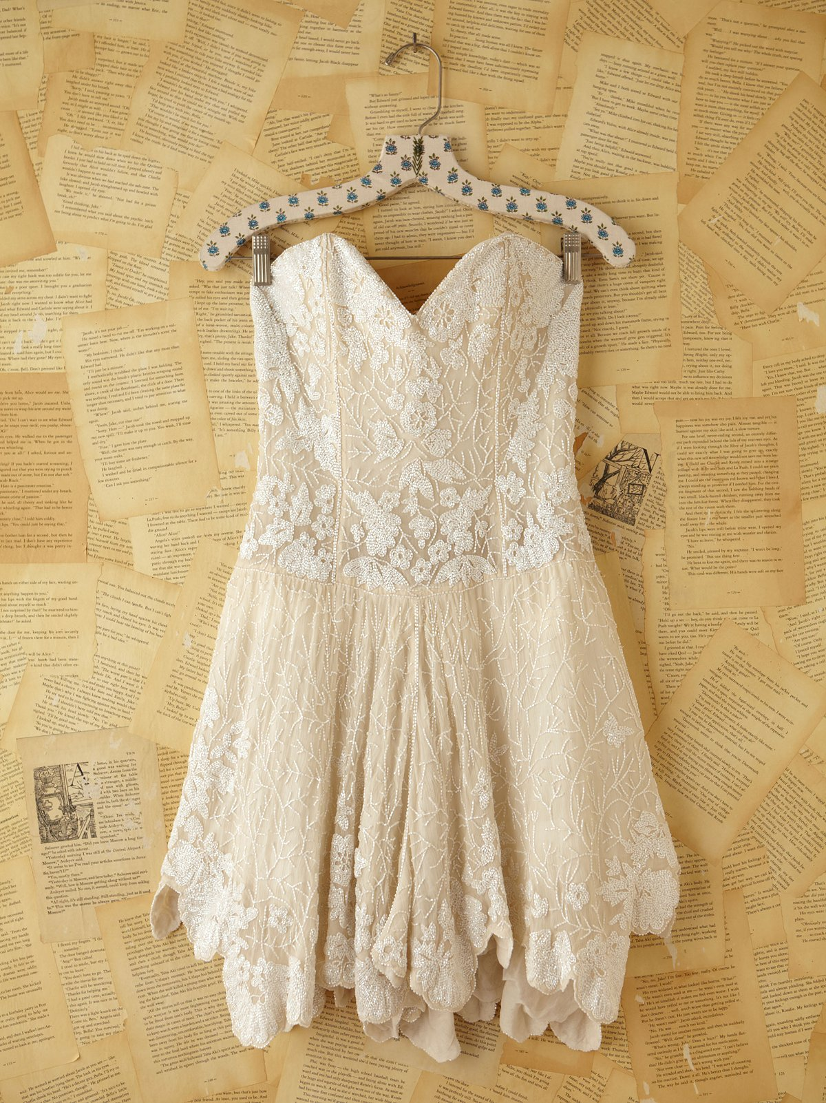 Vintage Custom Beaded Dress