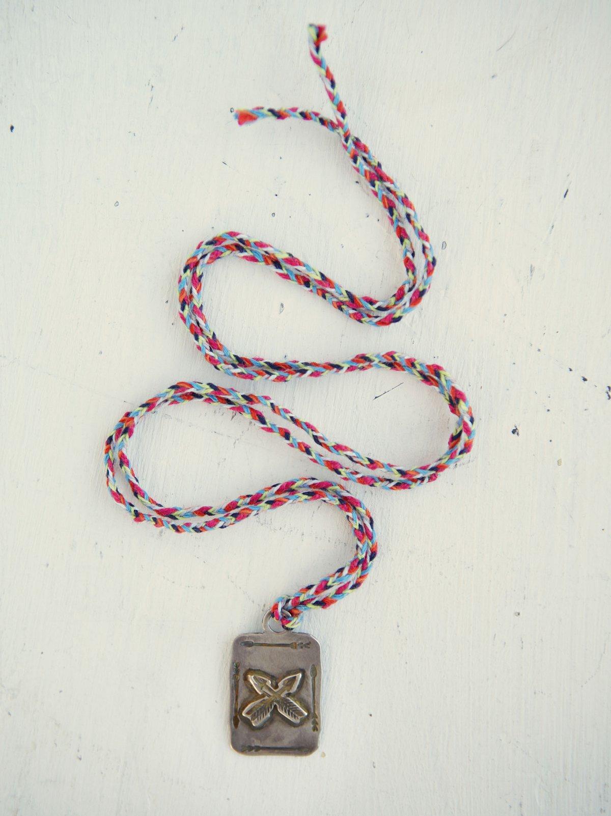 Vintage Tooled Pendant