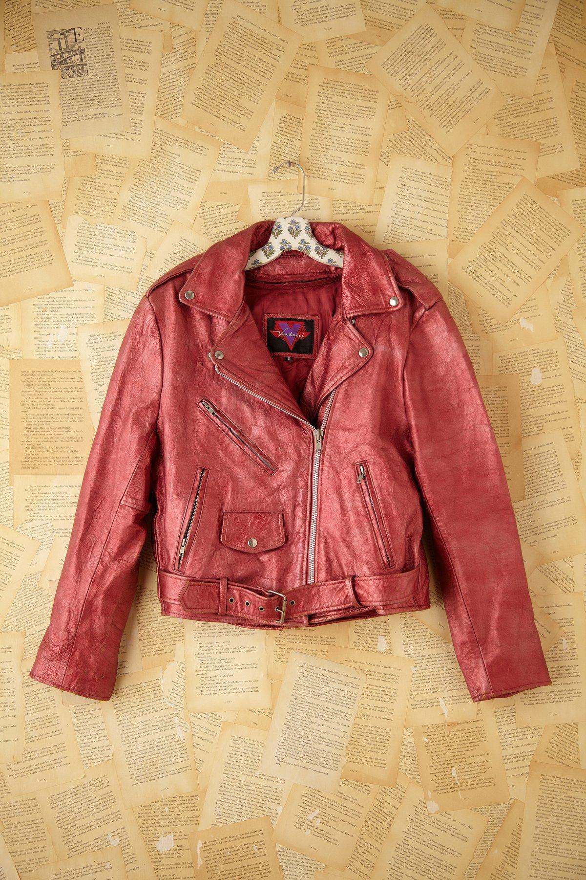 Vintage Metallic Jacket
