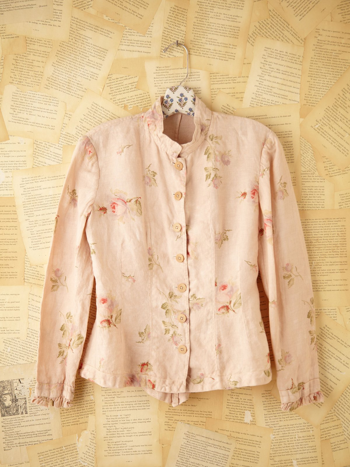 Vintage Dusty Rose Top
