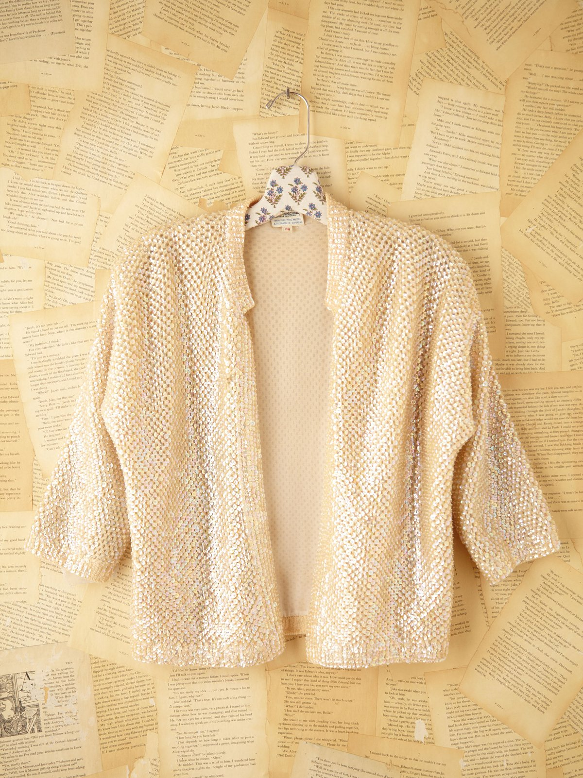 Vintage Sequin Sweater