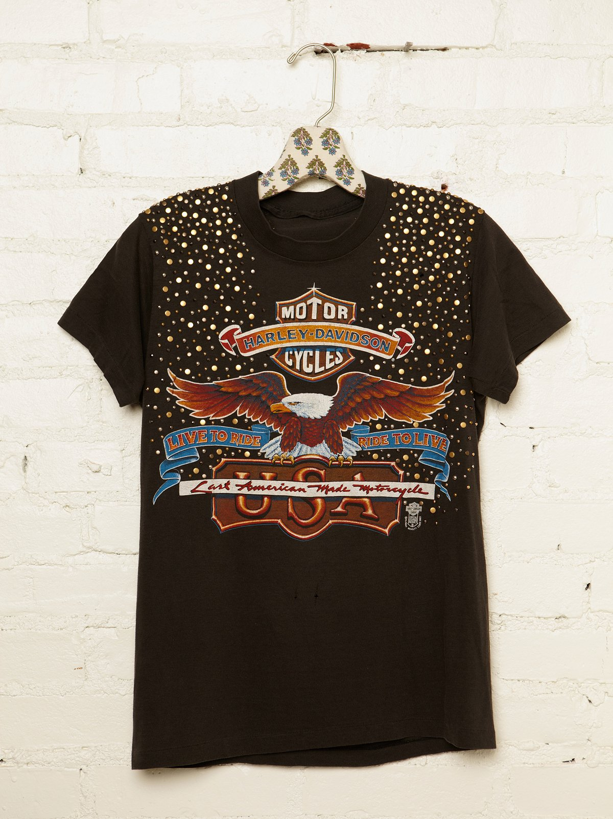 Vintage Studded Harley-Davidson Tee