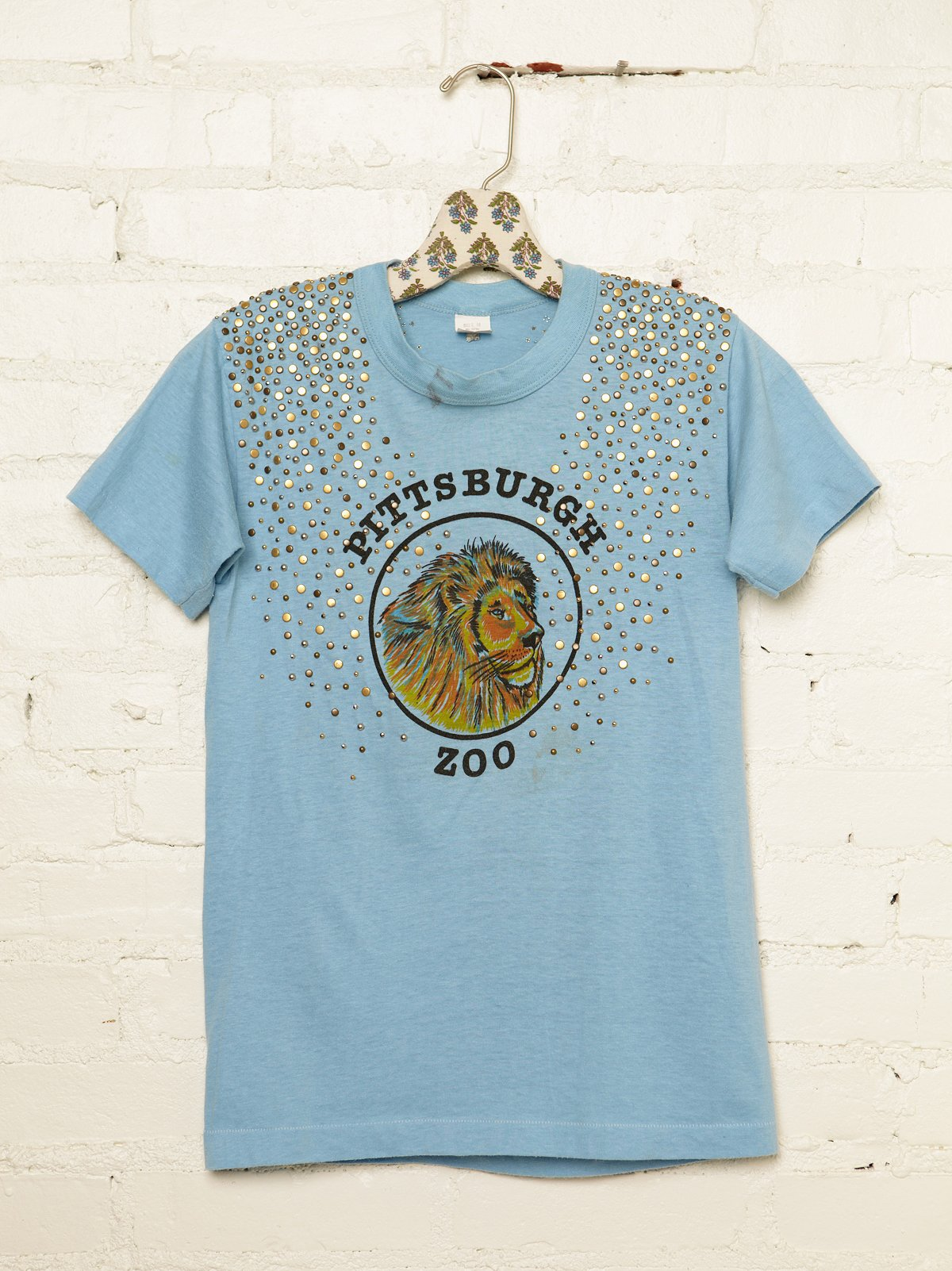Vintage Studded Pittsburgh Zoo Tee
