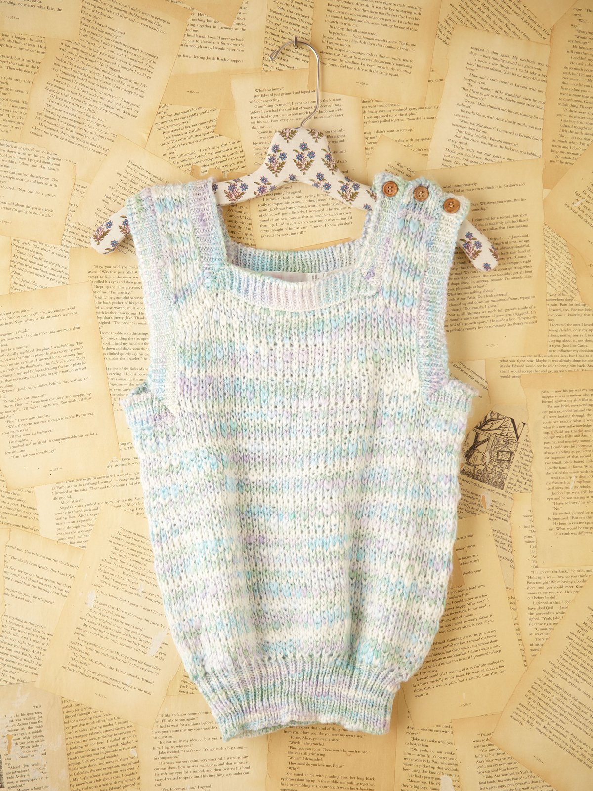 Vintage Knit Sweater Tank