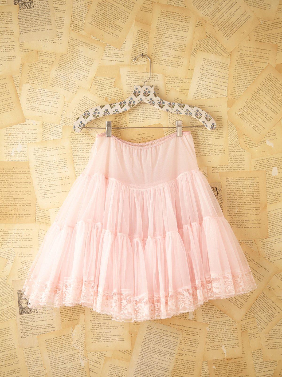 Vintage Tiered Tulle Skirt