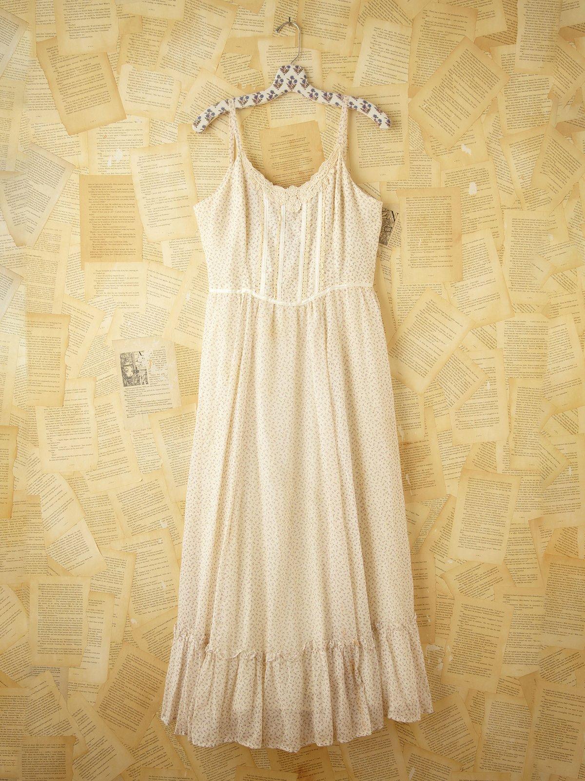 Vintage Tank Dress