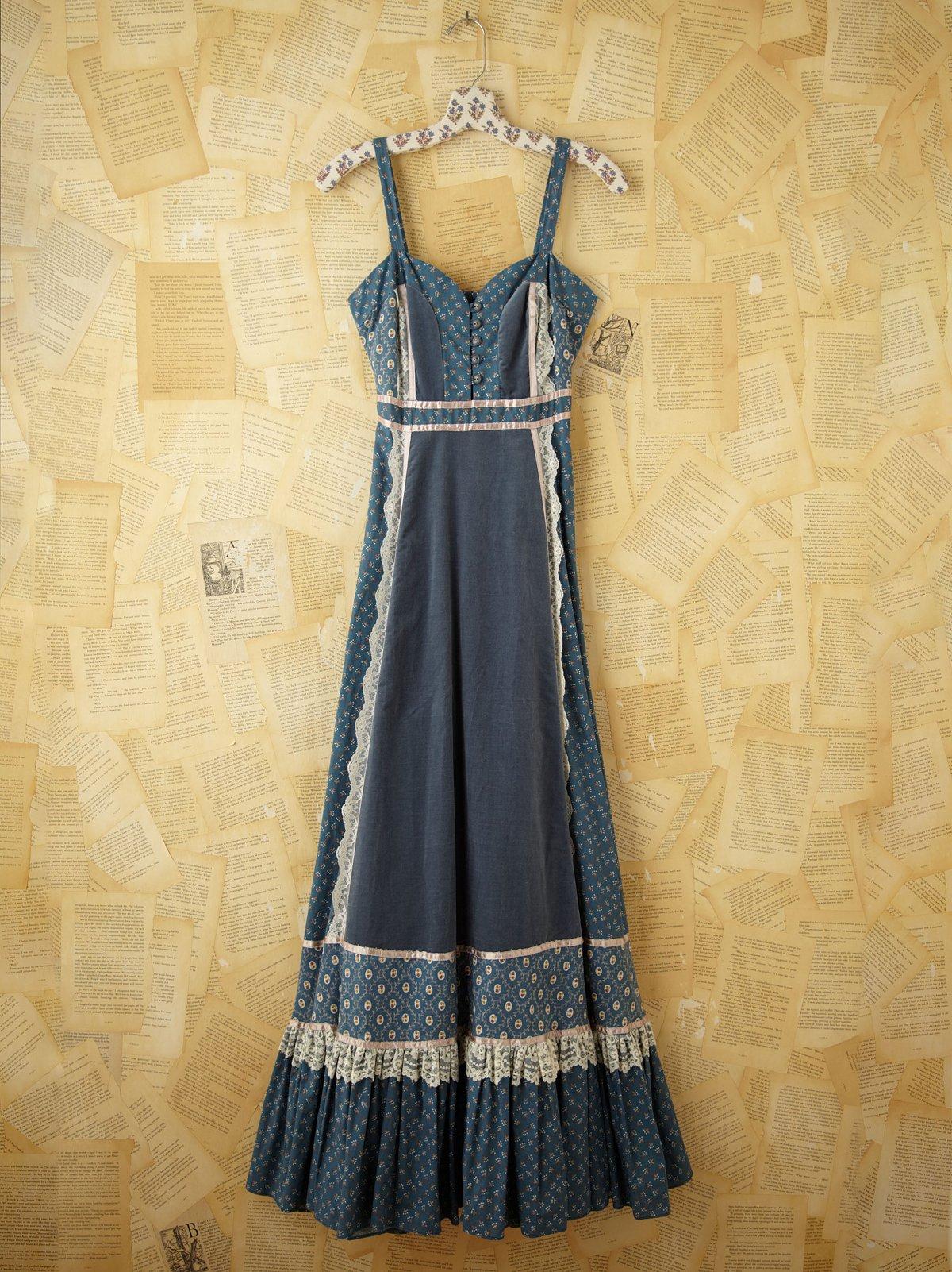Vintage Gunne Sax Tank  Dress