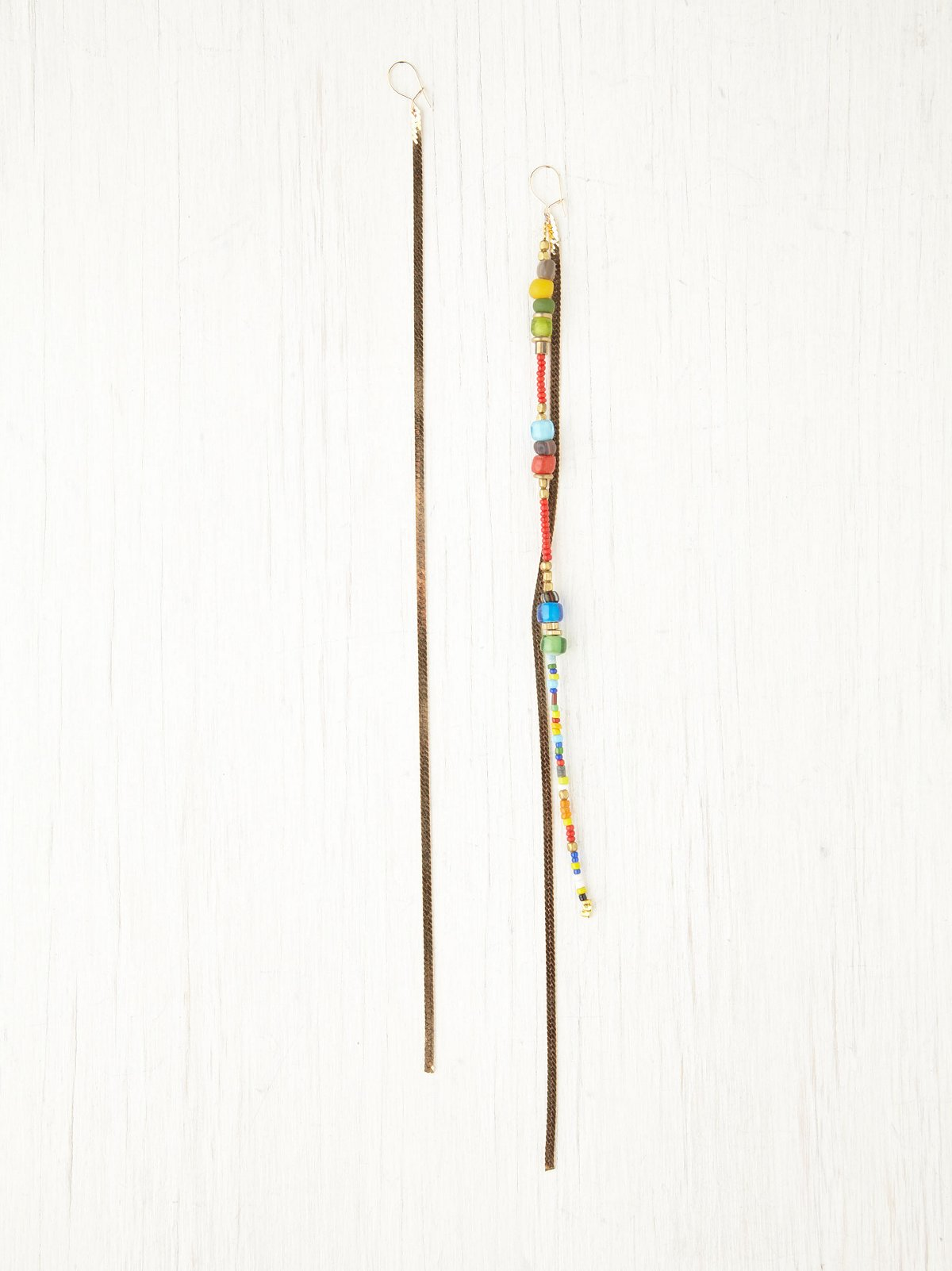 Colorful Beaded Shoulder Duster