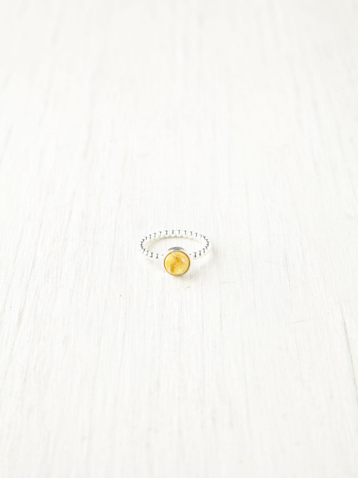 Delicate Druzy Ring