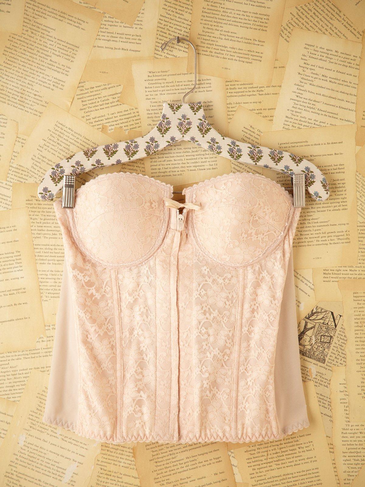 Vintage Lace Bustier