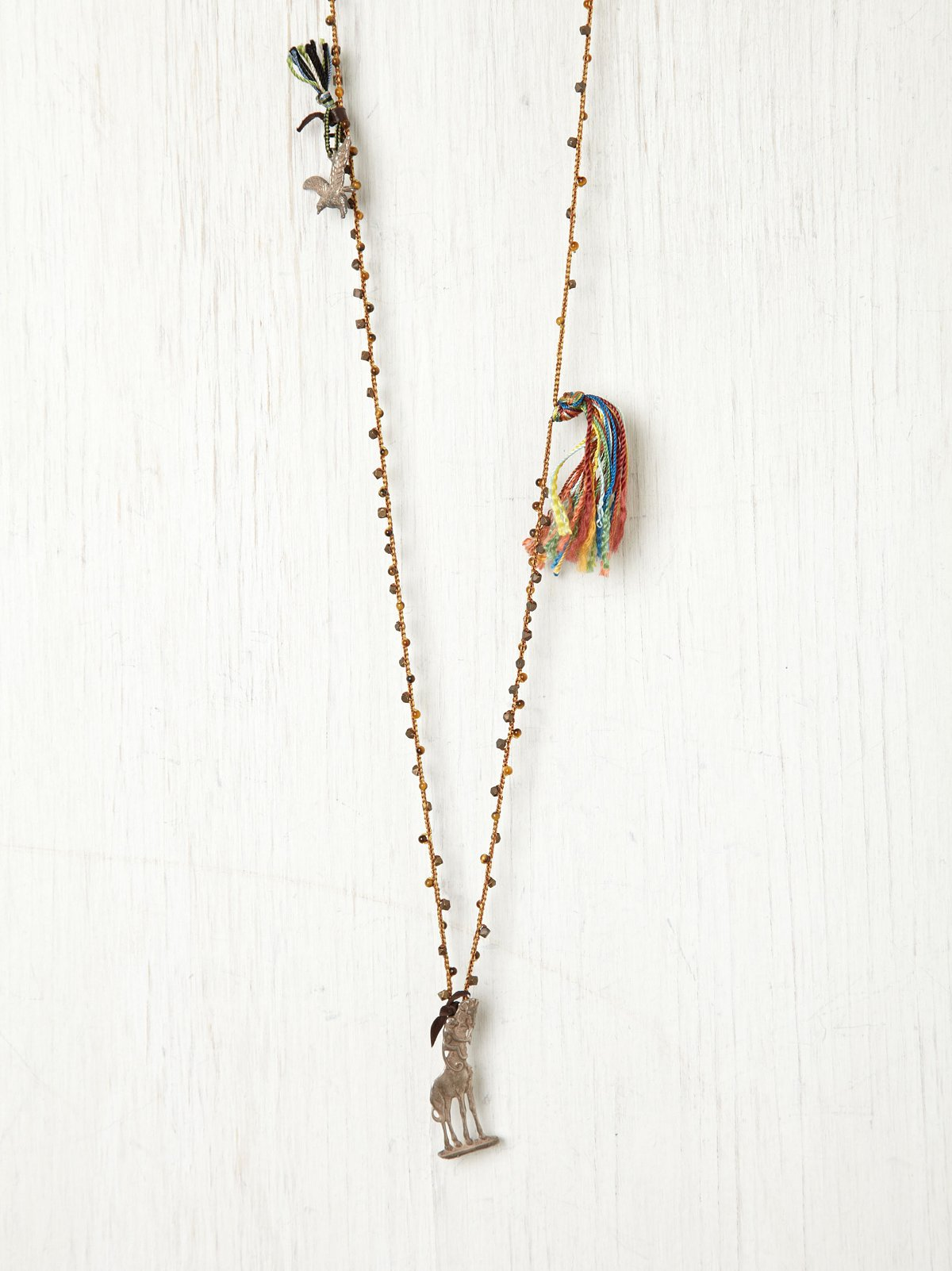 Tassel and Giraffe Rosary