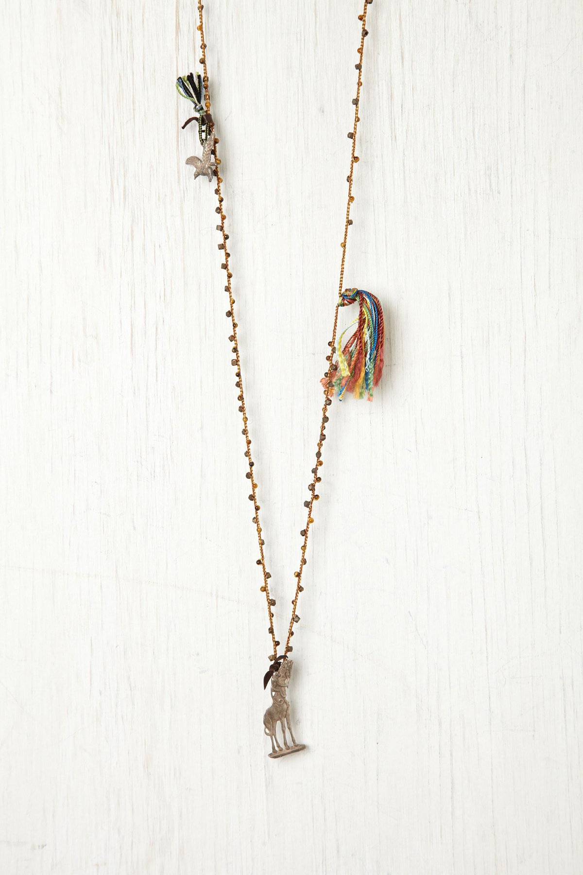 Tassel and Giraffe Rosary