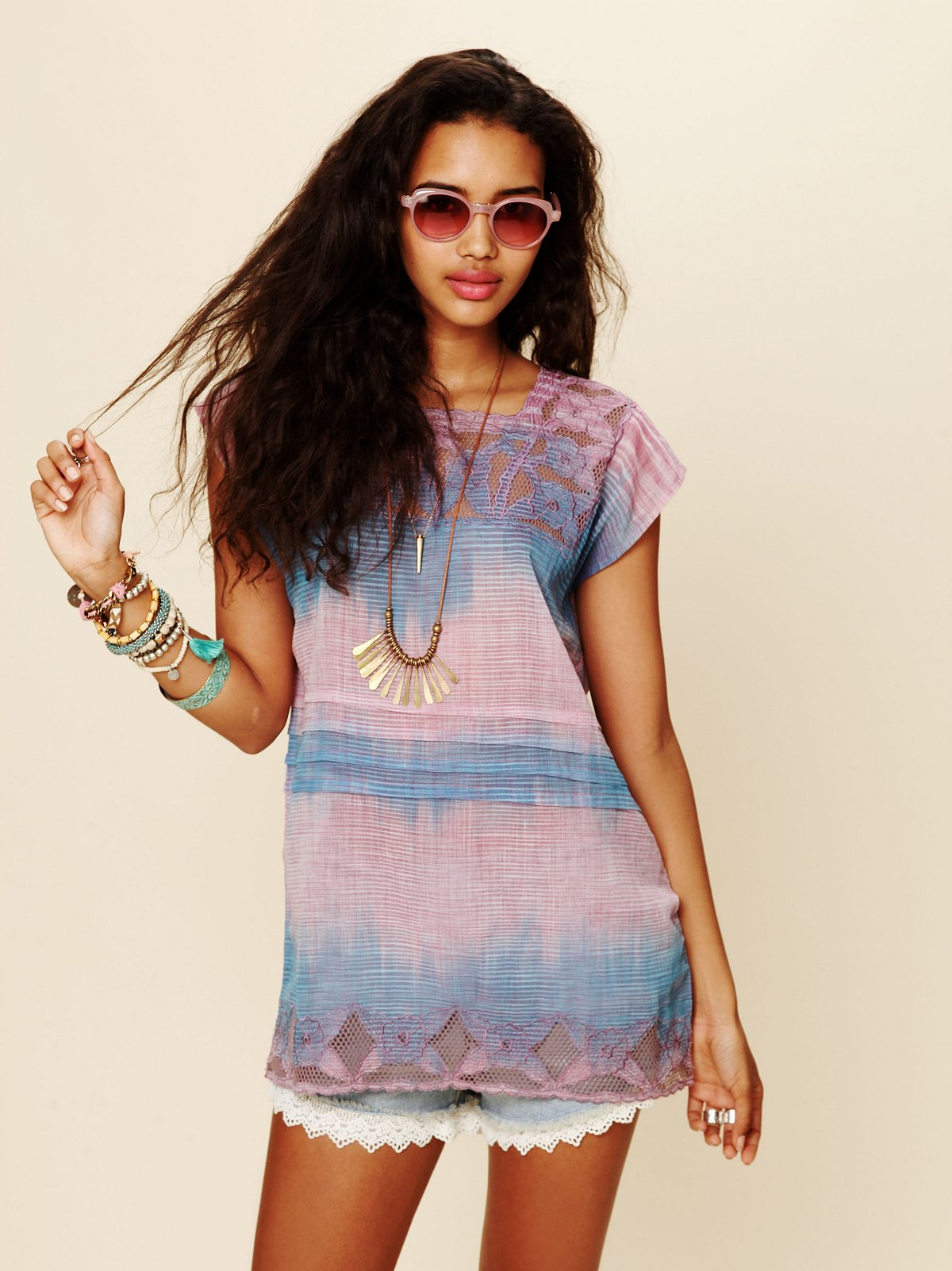FP New Romantics Tie Dye Tunic