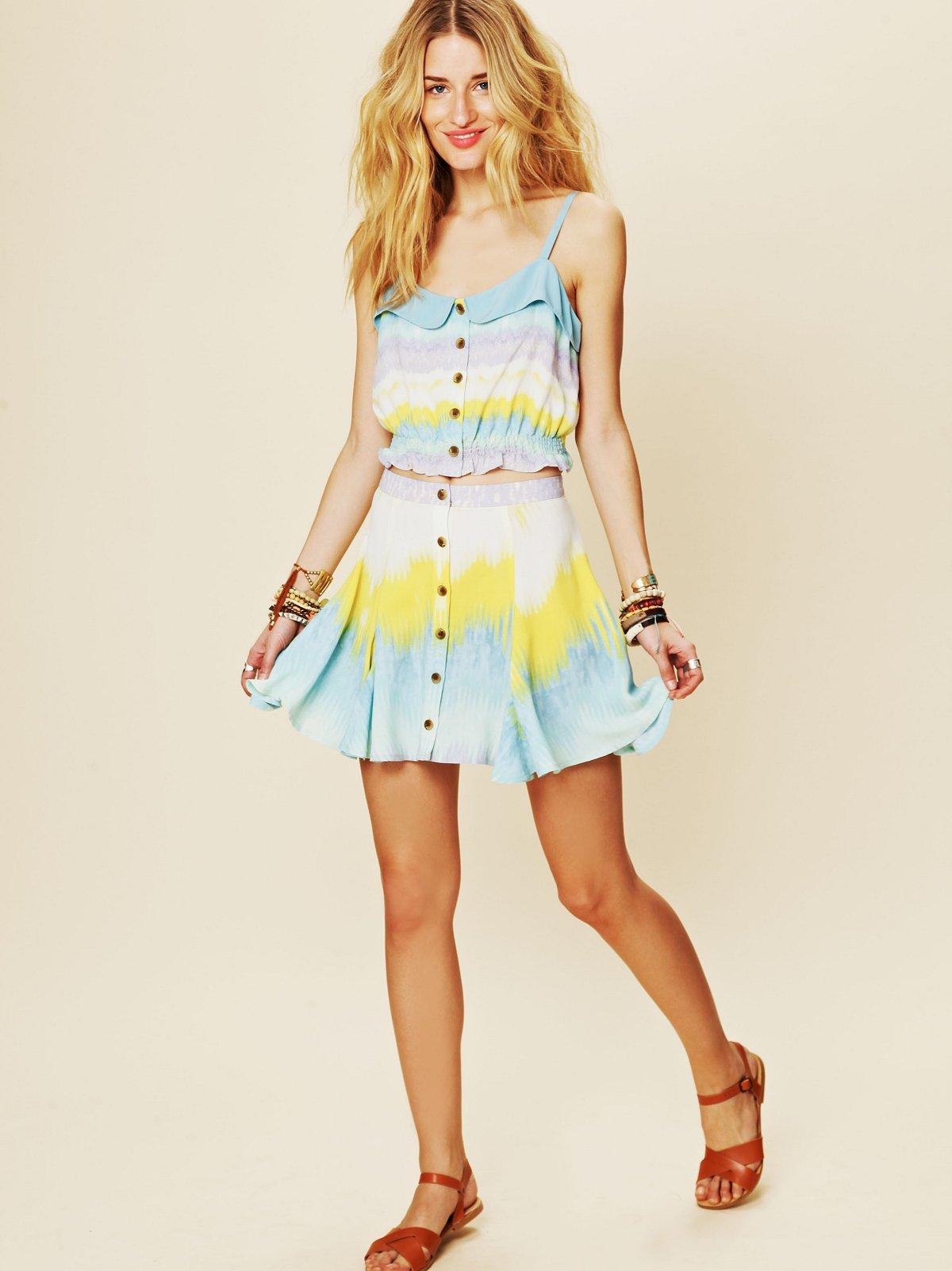 Lemon Drop Circle Skirt