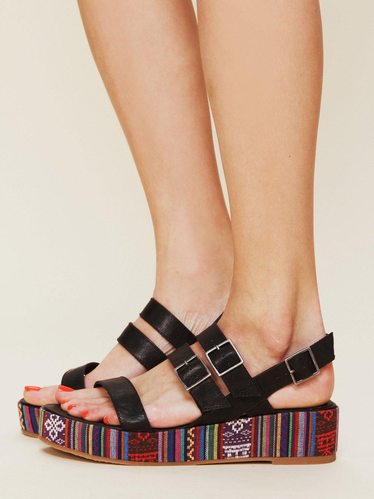 Leland Platform Sandal