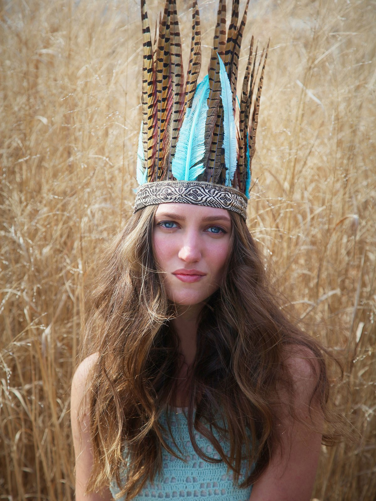 Adama Feather Headdress