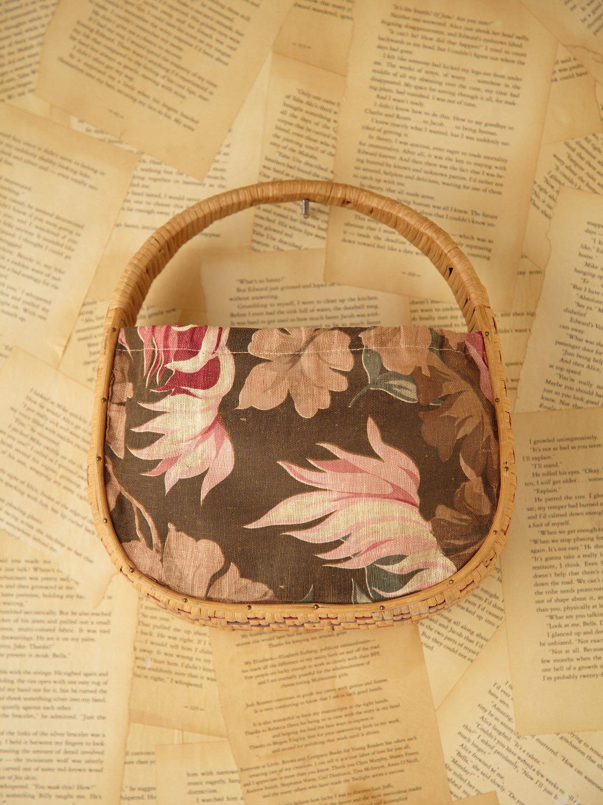 Vintage Basket Tote