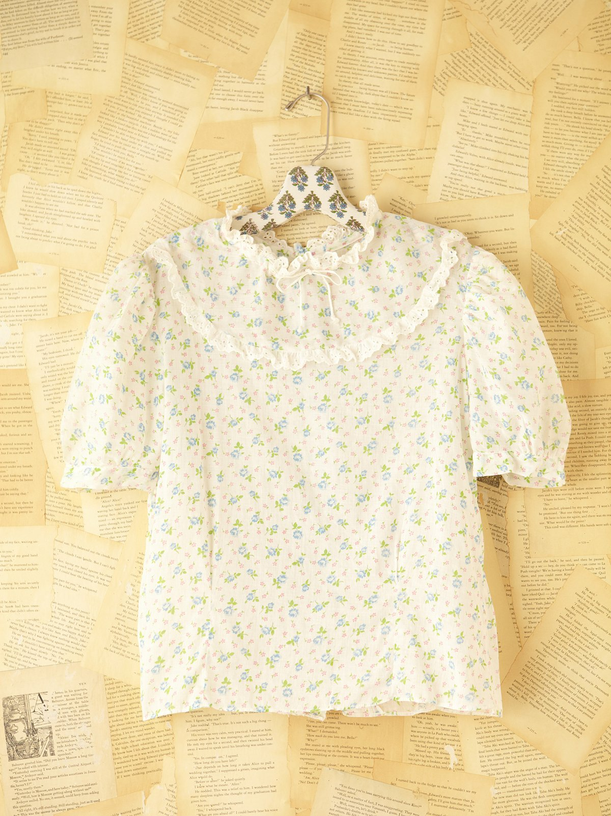 Vintage Button Back Shirt