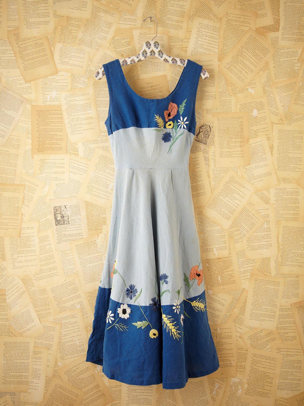 Vintage Picnic Dress