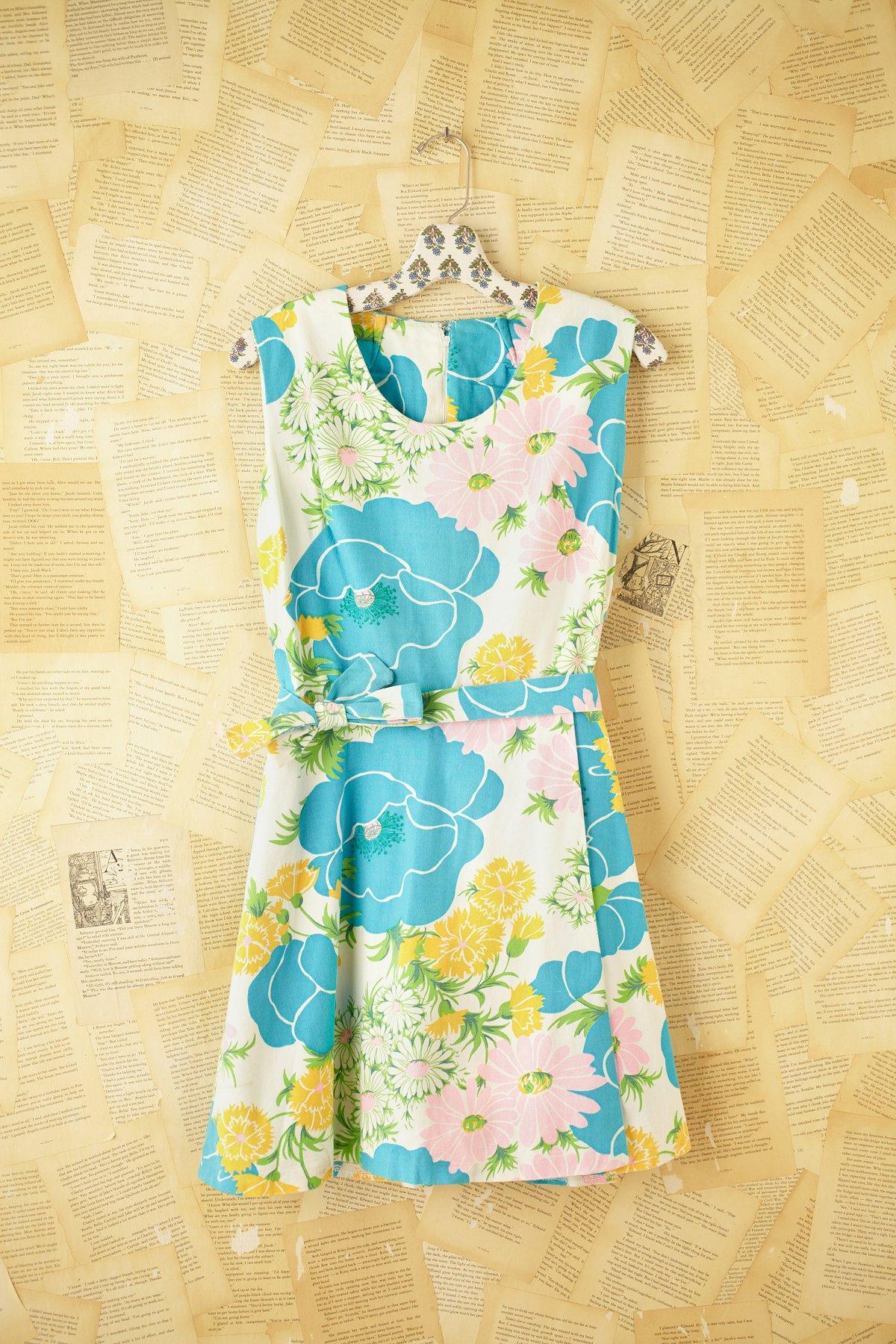 Vintage 1960s Mini Romper Dress