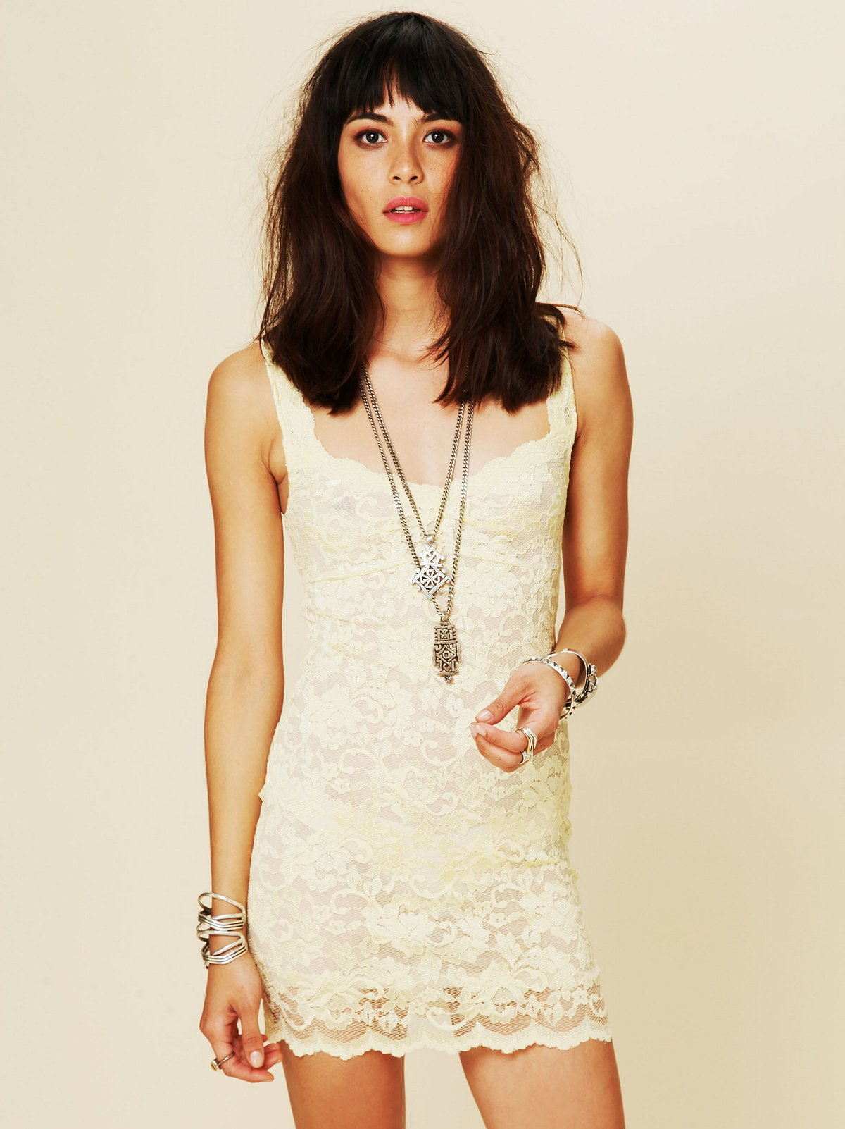 Lace Cut Out Back Bodycon