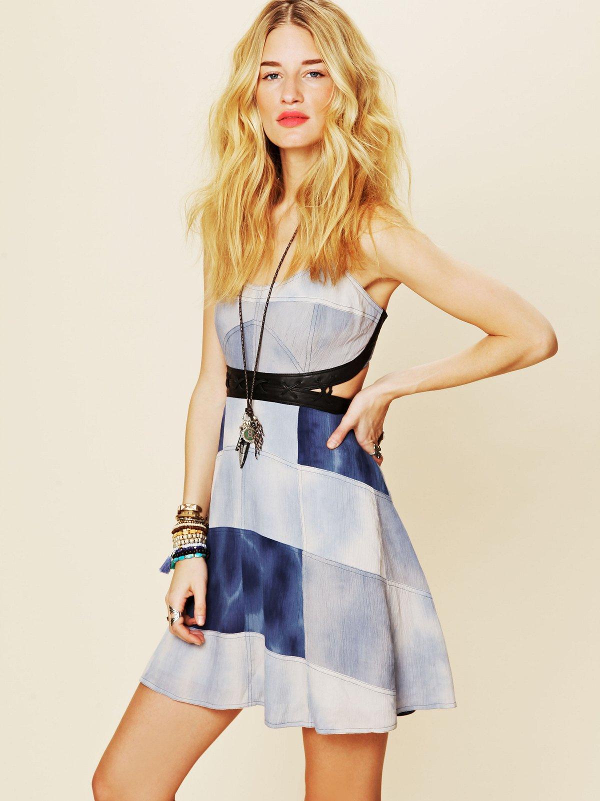 FP New Romantics Hanalee Patchwork Dress