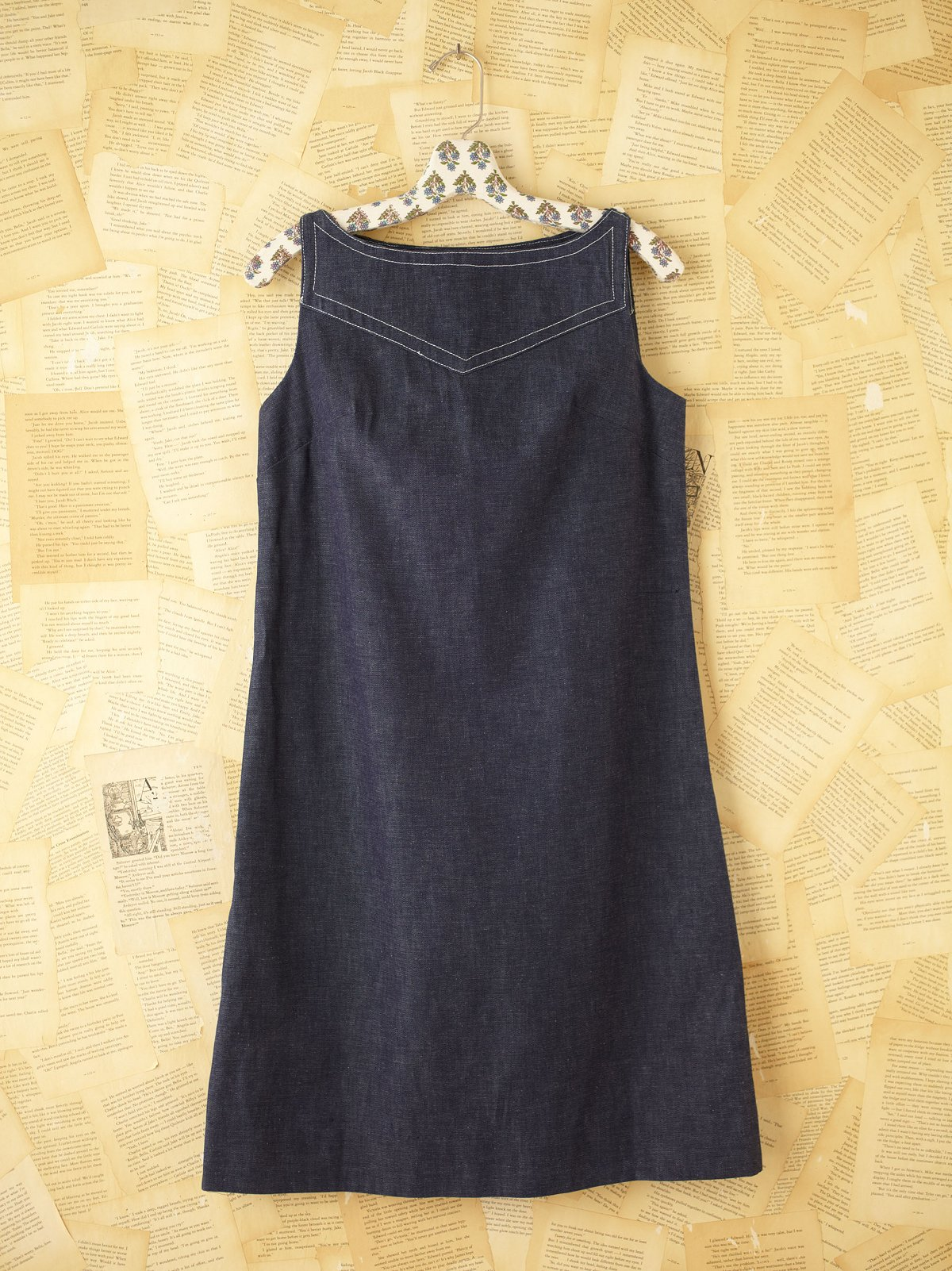 Vintage Mod Denim Dress